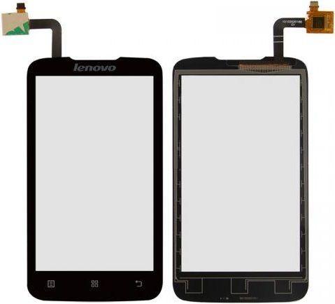 Сенсор (тачскрін) для телефону Lenovo A316, A316i (original) Black
