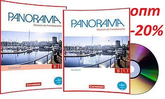 Немецкий язык / Panorama/ Kursbuch+Arbeitsbuch+CD. Учебник+Тетрадь (комплект), B1.1 / Cornelsen