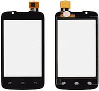 Сенсор (тачскрін) для телефону Fly IQ436 ERA Nano 3 (original) Black