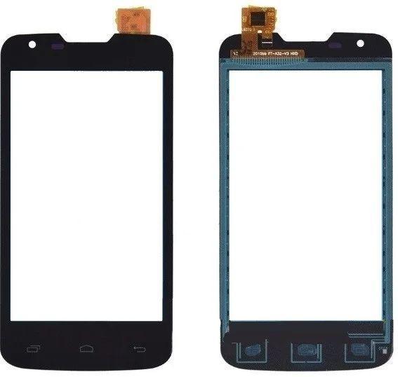 Сенсор (тачскрін) для телефону Fly IQ4401 ERA Energy 2 (original) Black