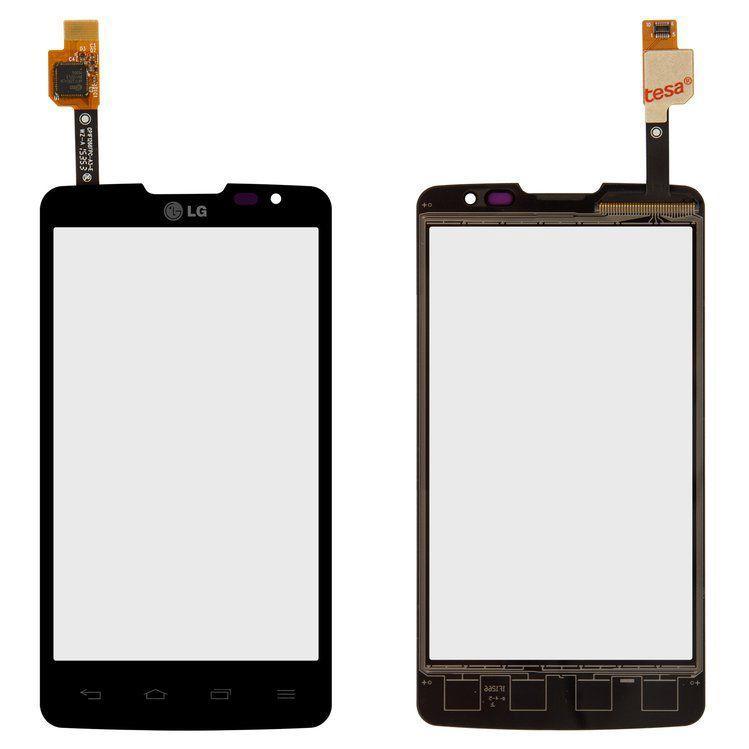 Сенсор (тачскрін) для телефону LG L60 Dual X135, X145 (original) Black