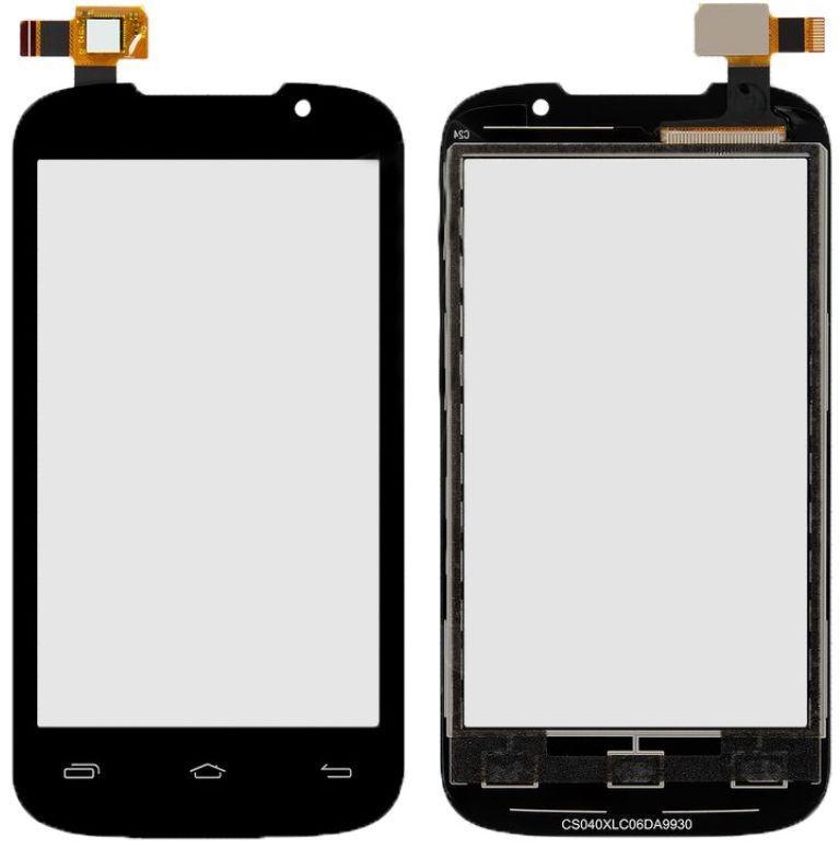 Сенсор (тачскрін) телефон Prestigio MultiPhone 3400 Duo (original) Black