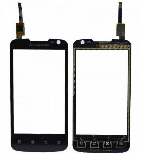 Сенсор (тачскрін) для телефону Lenovo S560 (original) Black