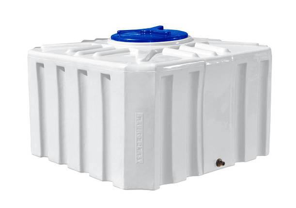 Квадратная емкость 500 литров бак, бочка усиленная для транспортировки пищевая RKО Куб, фото 2