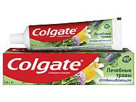 Colgate Лечебные травы зубная паста с фторидами и кальцием 100 мл Отбеливающая