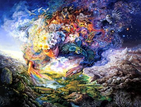 """Набір для творчості алмазна мозаїка """"Дух землі"""", 30*40 см, без рамки, H8520, фото 2"""