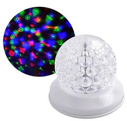 Лазер диско W-118 RGB шар