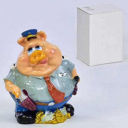 Скарбничка C 30129 (48) 1шт в коробці, керамічна, в коробці