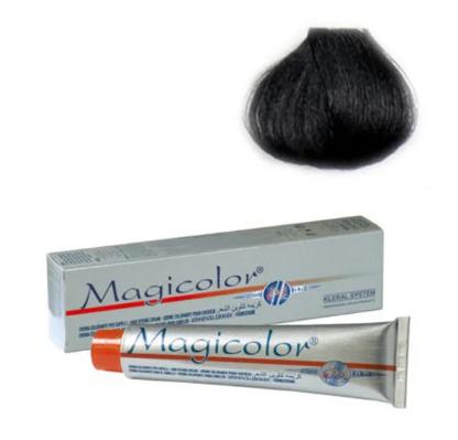 Kleral MAGICOLOR Крем-краска для волос 1 черный100 мл