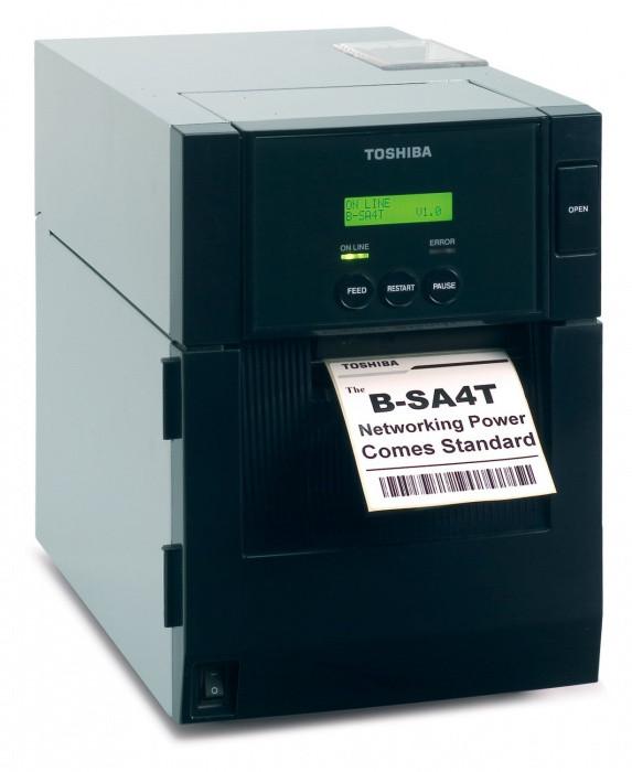 Принтер этикеток Toshiba B-SA4TM-TS12-QM-R