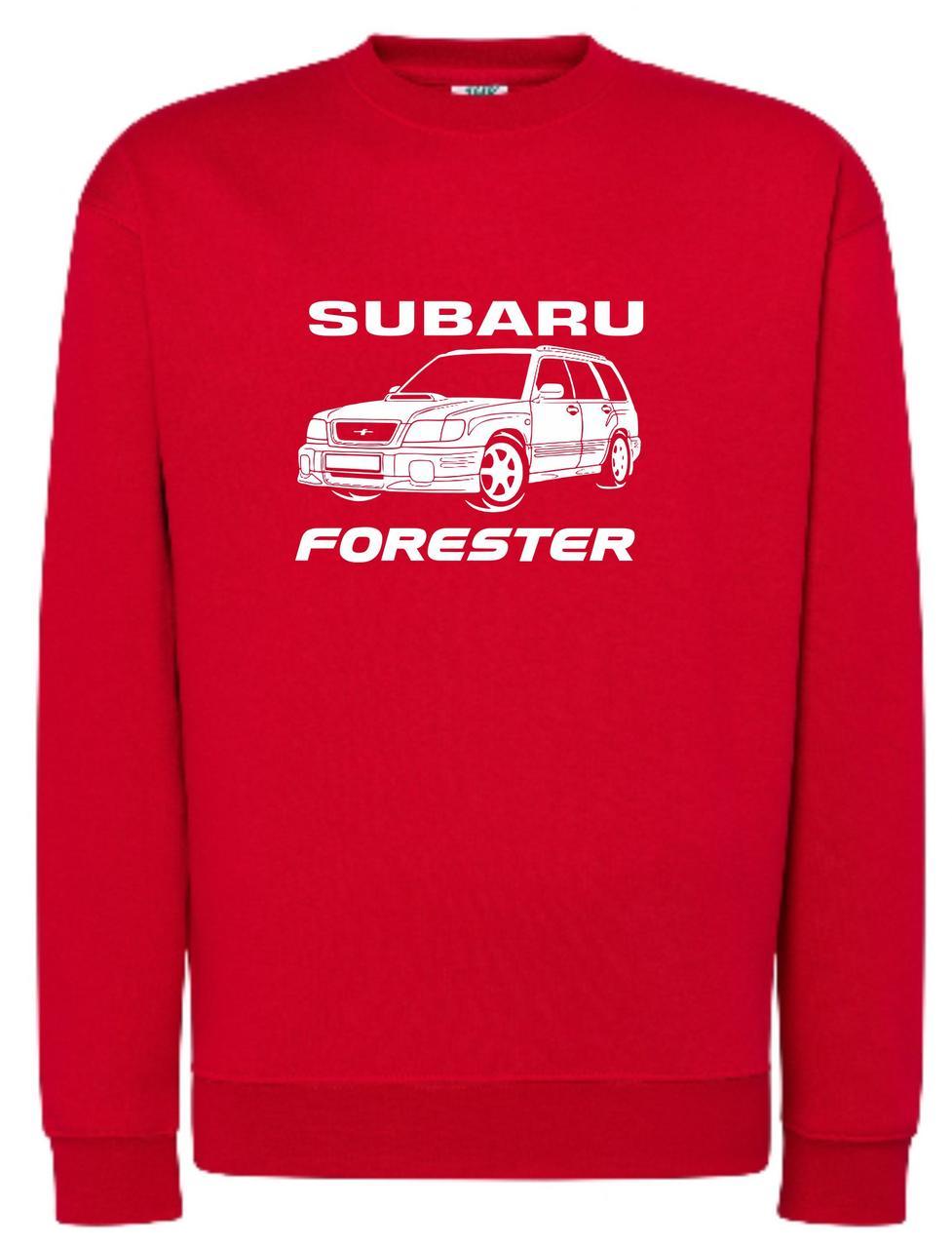 Реглан унісекс Subaru forester red