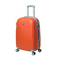 Чемодан Bonro Smile с двойными колесами (средний) оранжевый, фото 1