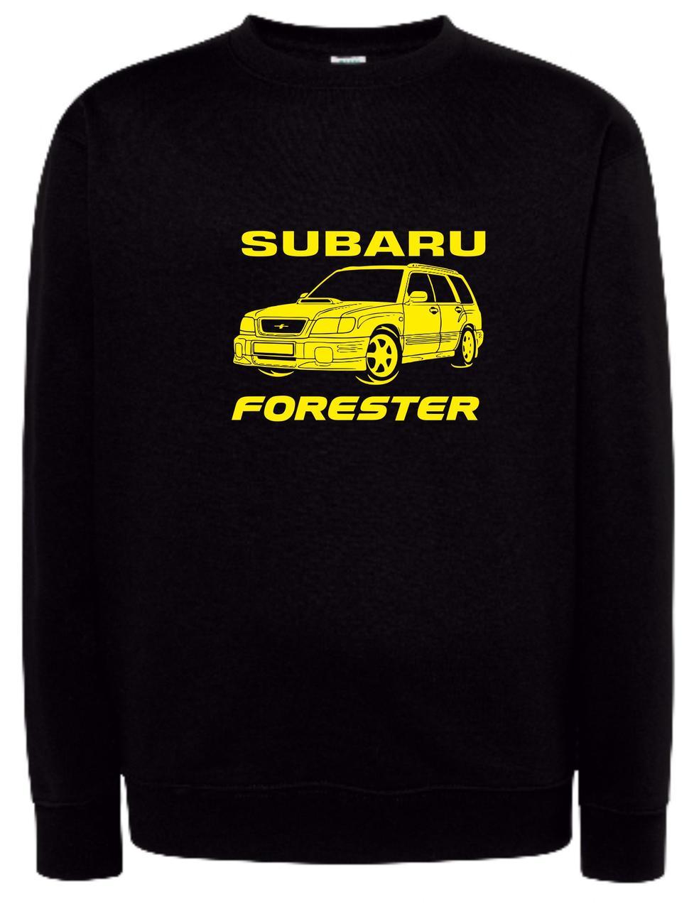 Реглан унісекс Subaru forester black
