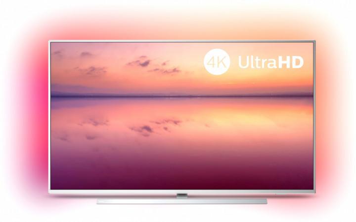 Телевизор Philips 55PUS6804 (PPI 1200Гц, 4K UltraHD, Smart, Ultra HD, Micro Dimming, DVB-С/T2/S2)
