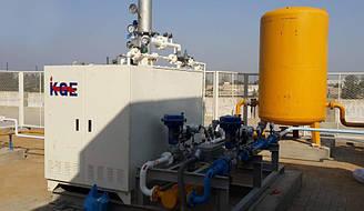 Газовые испарители СУГ, KGE модели KBV-500, испаритель для пропан-бутана.