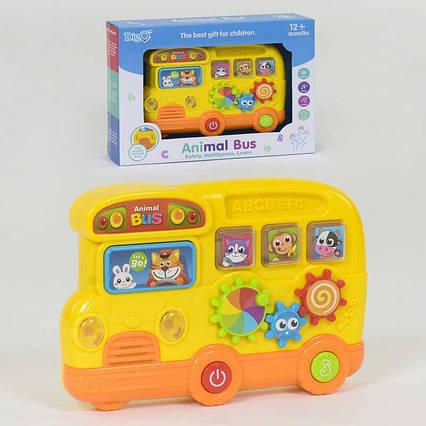 """Пианино """"Автобус"""" WD 3749 (48/2) """"Digo"""", свет, звук, в коробке"""