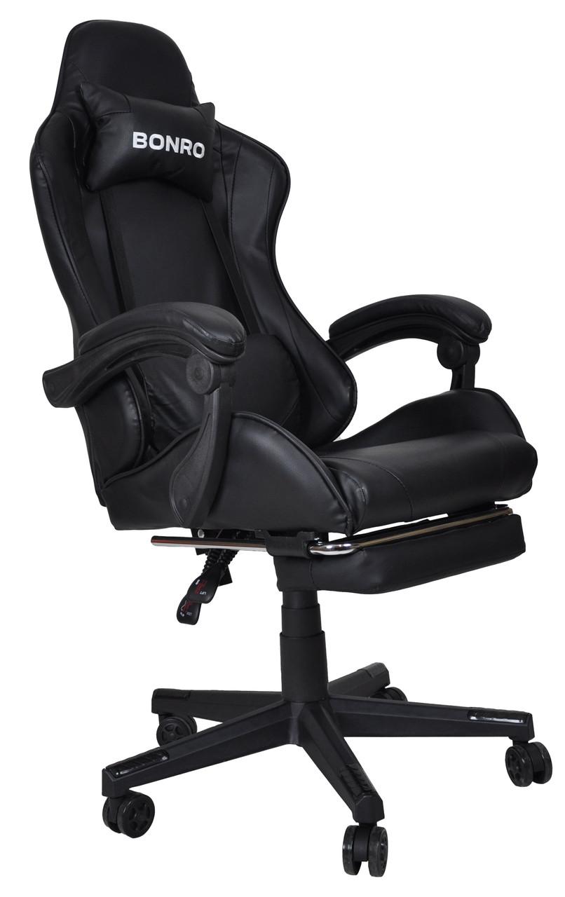 Кресло геймерское Bonro B-2013-1 черное