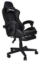 Кресло геймерское Bonro B-2013-1 черное, фото 1