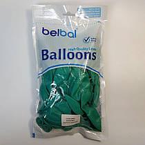 """Воздушные шары Belbal пастель зеленый 12""""(30 см) 50 шт"""