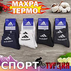 Носки подростковые махровые средние SPORT A, Турция, р 37-39, мальчик, ассорти, 20031114