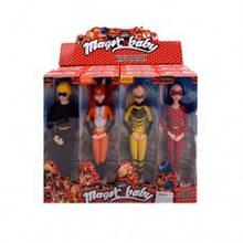 Кукла 896A (96шт) LDC, шарнирная, 29,5см, маска, в кор-ке, 12шт(4вида) в дисплее, 45,5-34-16см