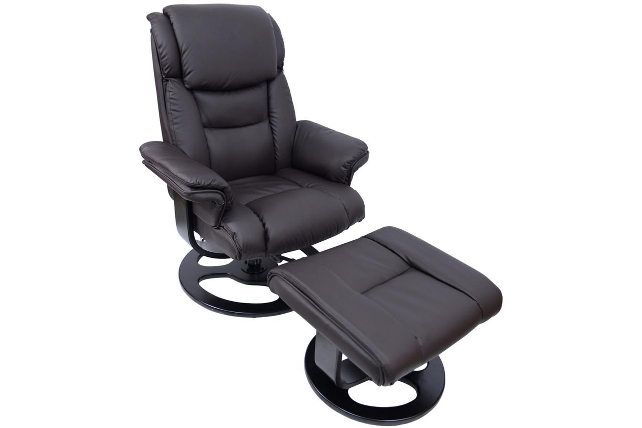 Кресло Bonro 5099 коричневое