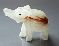 Слоник из оникса.