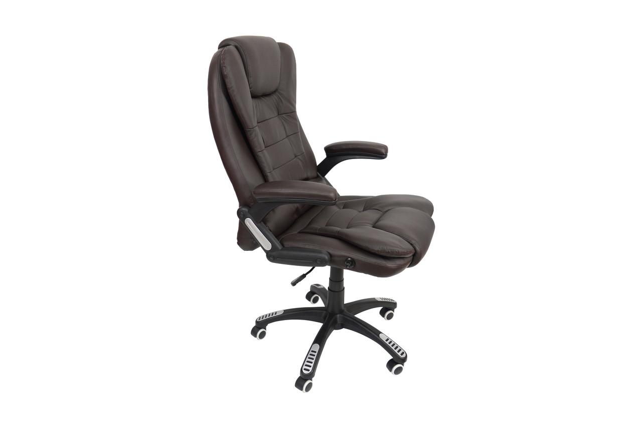 Кресло Bonro O-8025 коричневое