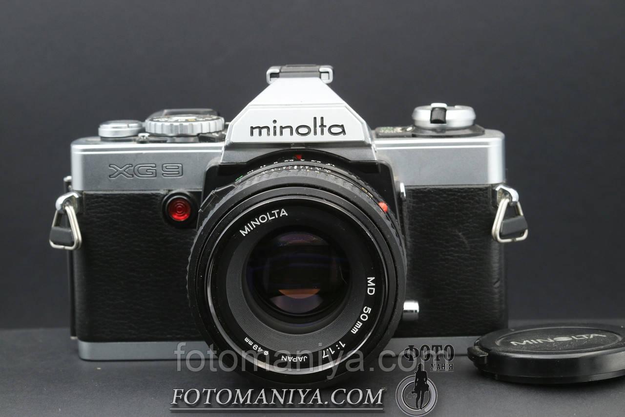Minolta XG-9 kit  Minolta MD 50mm f1.7