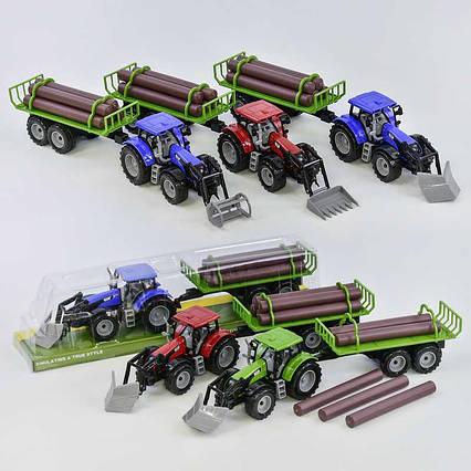 Трактор 550-22 В / 550-19 В (48) 3 вида, в слюде