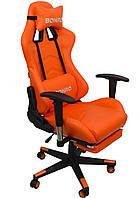 Кресло геймерское Bonro 2007-1 оранжевое, фото 1