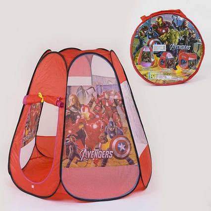 Палатка детская Супергерои 8006 AS (48/2) 120 х110 х110 см, в сумке
