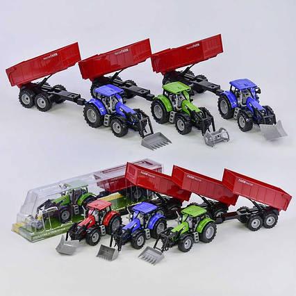 Трактор 550-6 В / 550-4 В (48) 6 видов, инерция, в слюде