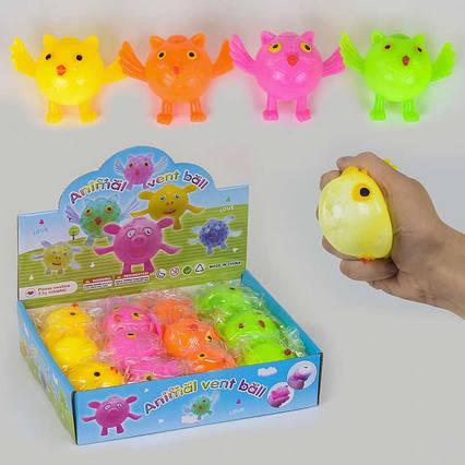 Іграшки-антистрес З 37475 (24) 4 кольори, ЦІНА ЗА 12 ШТУК В БЛОЦІ