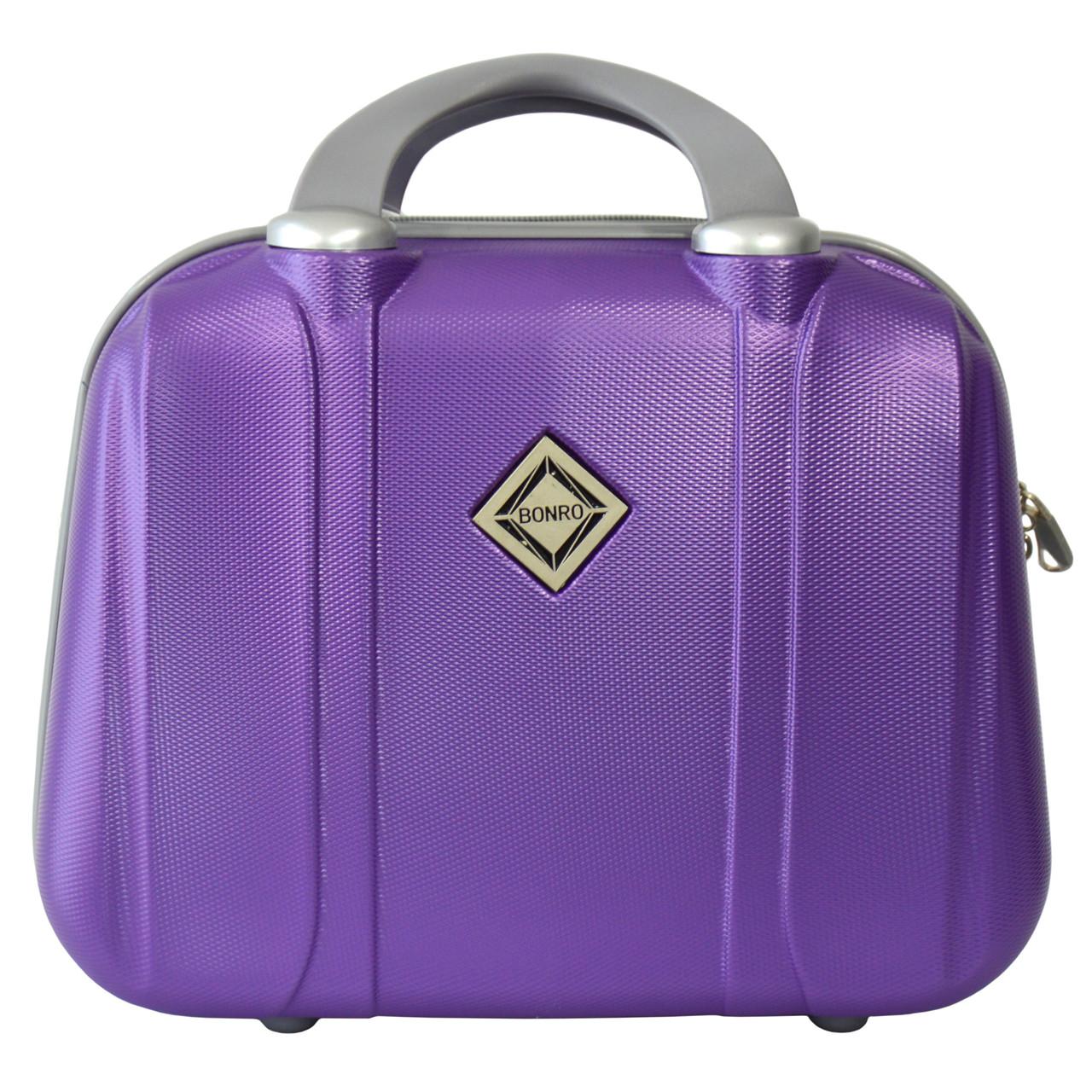 Сумка кейс саквояж Bonro Smile (небольшой) фиолетовый (purple 612)