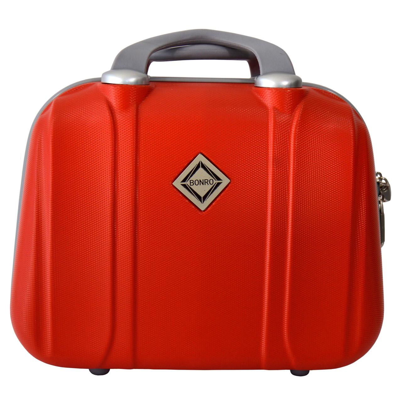 Сумка кейс саквояж Bonro Smile (небольшой) красный (red 601)