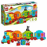 Конструктор LEGO DUPLO My First Поезд с цифрами 10847, фото 1