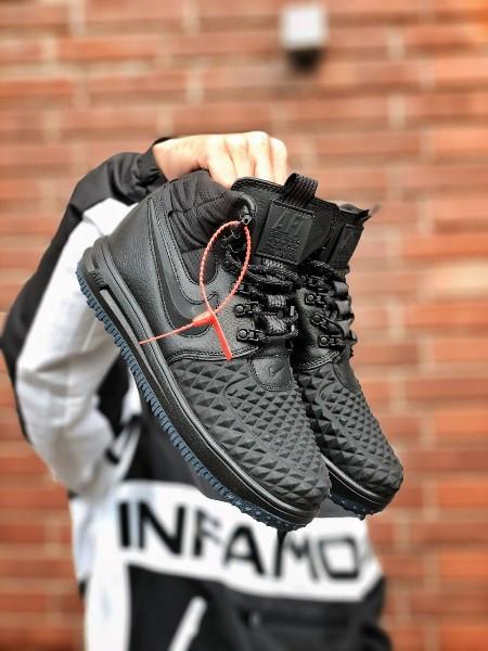 Кросівки чоловічі Nike Lunar Force 17 Duckboot black