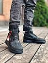 Кросівки чоловічі Nike Lunar Force 17 Duckboot black, фото 10