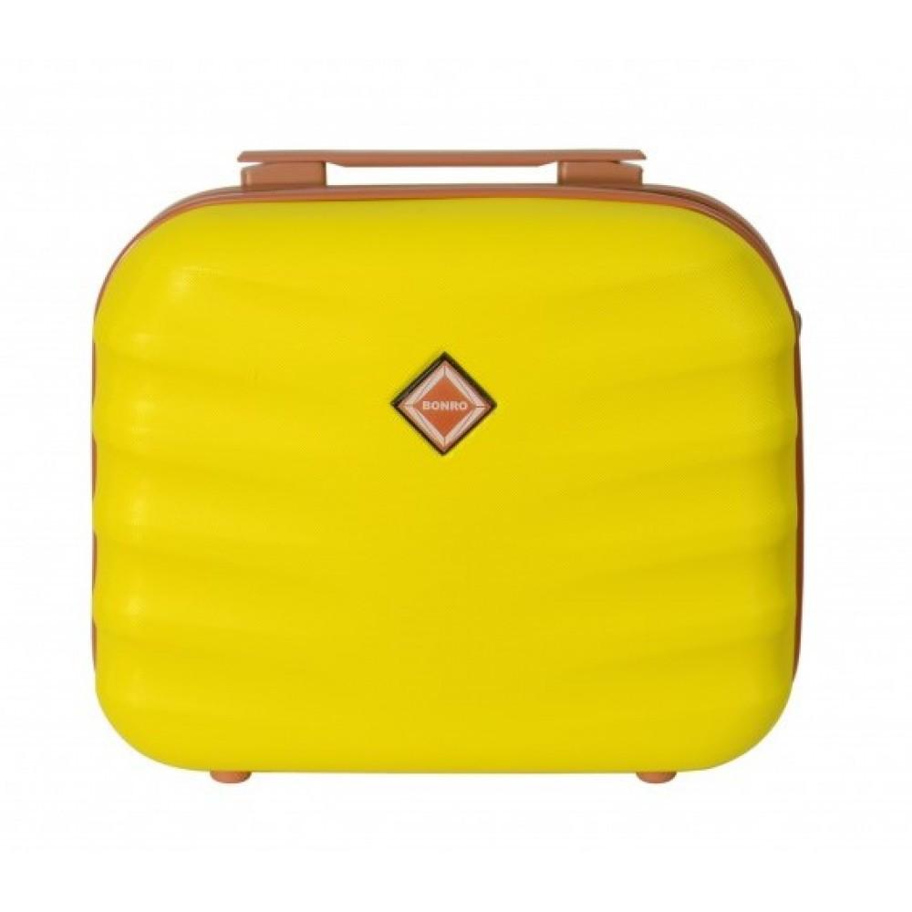 Сумка кейс саквояж Bonro Next (средний) желтый
