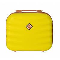 Сумка кейс саквояж Bonro Next (средний) желтый, фото 1