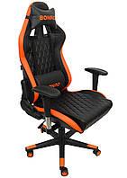 Кресло геймерское Bonro 1018 оранжевое