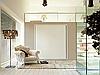 Шкаф-кровать трансформер в минимализме
