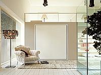 Шкаф-кровать трансформер в минимализме, фото 1