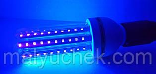 Ультрафіолетова світлодіодна лампа DIY ELECTRONIX 16 ват LED UV - 16