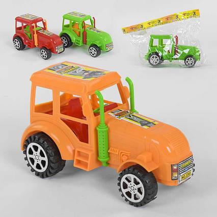 Трактор 2260 (144/2) 3 цвета, инерция. 1шт в кульке