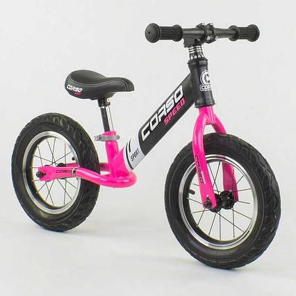 """Велобег """"CORSO"""" 88621 (1) стальная рама, колесо 12"""", надувные колёса"""
