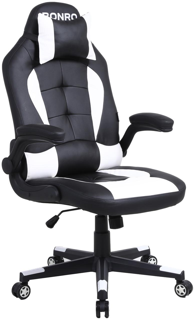 Кресло геймерское Bonro B-office 1 белое