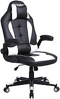 Кресло геймерское Bonro B-office 1 белое, фото 1