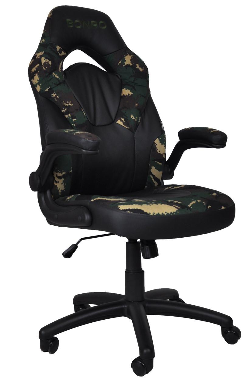 Кресло геймерское Bonro B-office 2 камуфляж